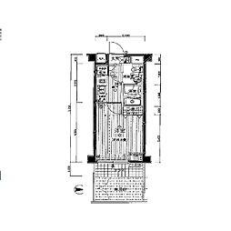 プレール・ドゥーク中野坂上[1階]の間取り
