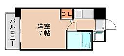 ビブレ博多駅南[2階]の間取り