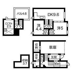 [タウンハウス] 北海道札幌市中央区南十七条西12丁目 の賃貸【/】の間取り