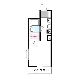 神奈川県川崎市麻生区高石4丁目の賃貸マンションの間取り