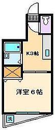 エクセル緑町[2階]の間取り