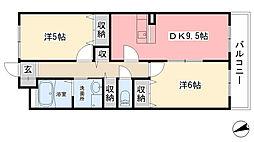 セリージャ・デ・トーア[2階]の間取り