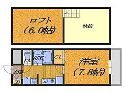 アンシャンテ深井[3階]の間取り