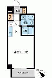 アーバンパーク新横浜[0205号室]の間取り