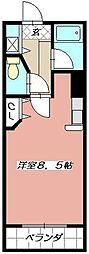 ウイングビル[403号室]の間取り