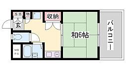 KY上沢[4階]の間取り