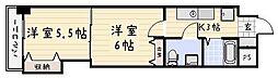 木下鉱産ビル[7階]の間取り
