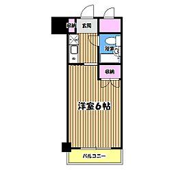 土屋ビル[5階]の間取り