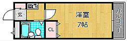 富士第一ビル[2階]の間取り