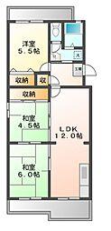 セリージェ24[4階]の間取り
