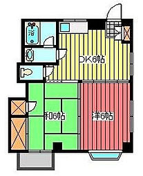 メゾン川口[1階]の間取り