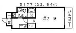 FDS WILL KOKHAMA (ウィルコハマ)[2階]の間取り