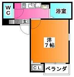 Grotta blu KOMAGOME[4階]の間取り