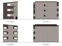 愛知県名古屋市中村区長筬町4丁目の賃貸アパートの外観