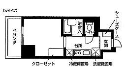 Nasic東上野[1204号室]の間取り