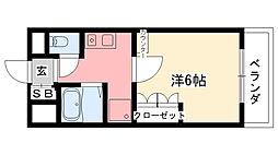 KT-9[4階]の間取り