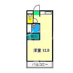 アビタシオンゆう[3階]の間取り