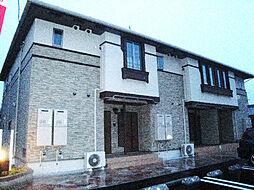 愛媛県伊予郡砥部町麻生の賃貸アパートの外観