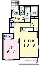 iTad 1[1階]の間取り