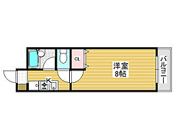 サカイ東ビル[3階]の間取り