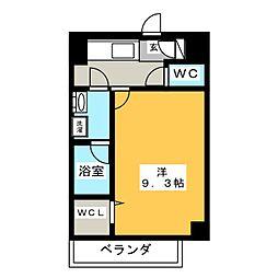 駅前町新築マンション[9階]の間取り