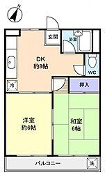 EAGLE・HOUSE[3階]の間取り