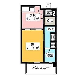 プライムスクエア[6階]の間取り