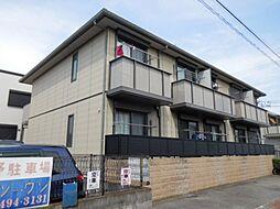 兵庫県尼崎市東園田町6丁目の賃貸アパートの外観
