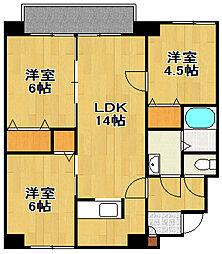 コルティーレ20[8階]の間取り