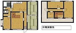 [一戸建] 福岡県太宰府市朱雀6丁目 の賃貸【/】の間取り