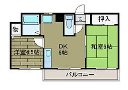 SKライフ[2階]の間取り