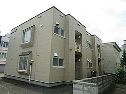 北海道札幌市東区北三十五条東17丁目の賃貸アパートの外観