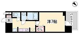 兵庫県神戸市中央区浜辺通4丁目の賃貸マンションの間取り