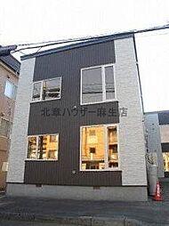 北海道札幌市北区北三十二条西7丁目の賃貸アパートの外観
