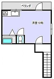 石田藤田マンション[C2号室号室]の間取り