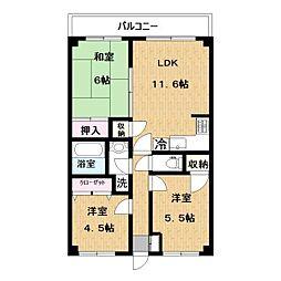 iマンション[105号室]の間取り