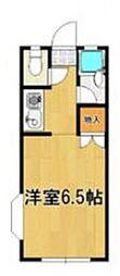 筑紫MSハイム[205号室号室]の間取り