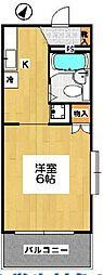 プリべメゾンMORI[1階]の間取り