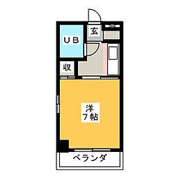 篠原ビル[3階]の間取り