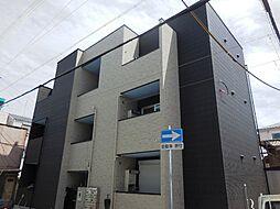 兵庫県尼崎市東桜木町の賃貸アパートの外観