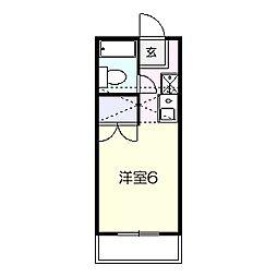 グラン鎌ヶ谷[102号室]の間取り