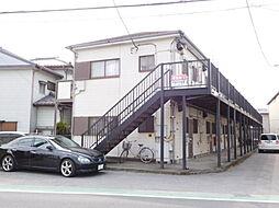 千葉県野田市山崎の賃貸アパートの外観
