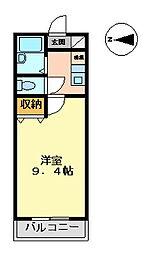 マンション大洋2[A-3号室 号室]の間取り