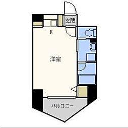 ラ・メゾヌーヴ[6階]の間取り