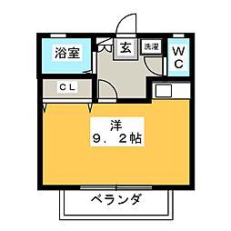 サンハイツ柴田[1階]の間取り