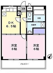 誉田セントラル・ビレッジ 203号室[203号室]の間取り