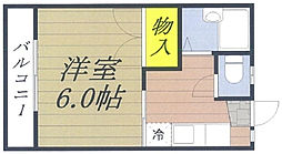 埼玉県さいたま市中央区本町東3丁目の賃貸アパートの間取り