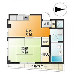 h981[2階]の間取り