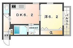 Mare BluI[1階]の間取り
