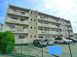 秋山コーポラス[4階]の外観